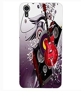 ColourCraft Music Lover Design Back Case Cover for HTC DESIRE 626