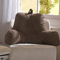 Cuscino di sostegno gravidanza spinale con braccioli, colore: camoscio lettura