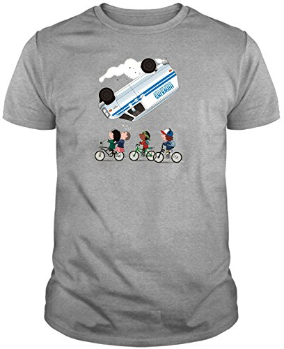Camiseta de Hombre Stranger Things Serie Retro TV 80 L