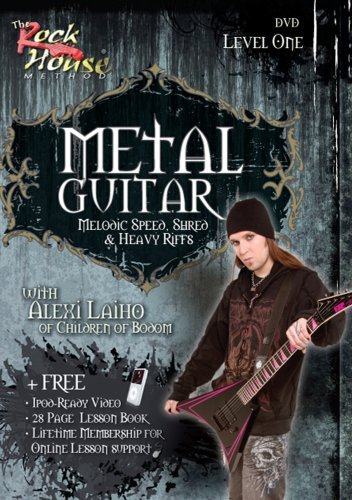 Metal Guitar with Alexi Laiho of Children of Bodom - Level One (Metal Guitar House Rock)