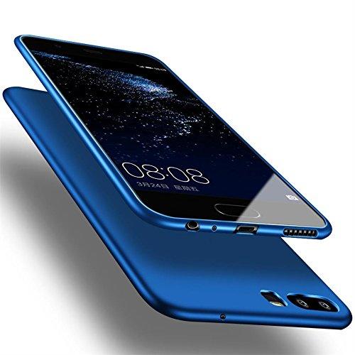 X-level Huawei P10 Hülle, [Guadian Serie] Soft Flex Silikon [Blau] Premium TPU Echtes Telefongefühl Handyhülle Schutzhülle für Huawei P10 Case Cover