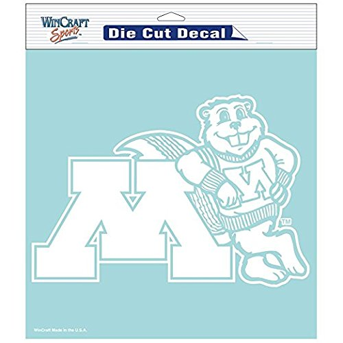 NCAA Minnesota Golden Gophers Die-Cut Decal, 8