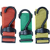 Connex Spannbänder Set verstellbar 3 teilig PP, 1 Stück, DY270662