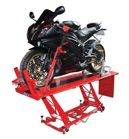 HYDRAULIC MOTORCYCLE SCOOTER WORKSHOP TABLE LIFT LARGE SIZED