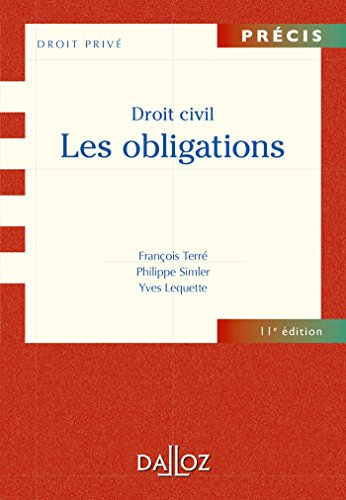 Droit civil. Les obligations - 11e éd.