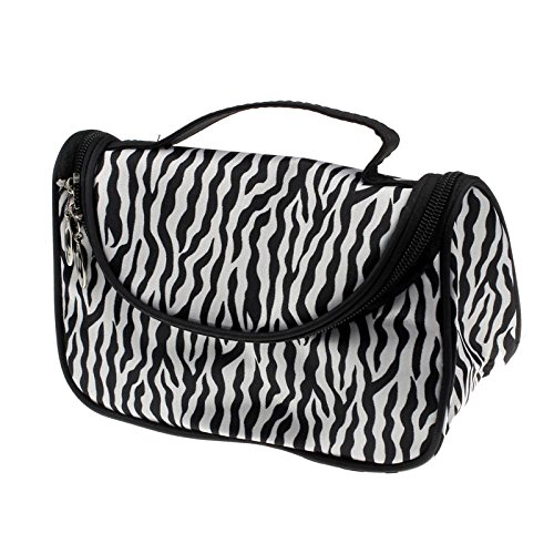 Internet Maquillage Femmes Mesdames Sac à Main Cosmetic Case Toiletry Bag Zebra Voyage