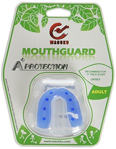 DEPICE Zahnschutz A-Protection mit Box, Blau/Weiß, One size, SA-ZAP-BL