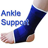 2 x KNEE,ANKLE,PALM,WRIST OR ELBOW SUPPORTS - HIGH QUALITY BRAND NEW (ANKLE)