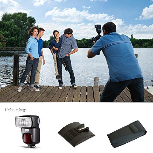 Metz mecablitz 52 AF-1 für Pentax Kameras (DSLR und CSC) | Top Blitzgerät mit P-TTL, Leitzahl 52, HSS (High Speed Sync), Touch-Display etc. - 11