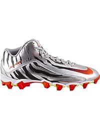 Nike New Alpha Shark 2 Mid Le Calcio Tacchetti Argento Rosso – Scegli la Tua 92e401d29f7