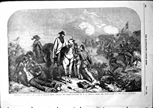 Croquis de Garibaldi Rome 1849 pendant le siège Gh Thomas 1854