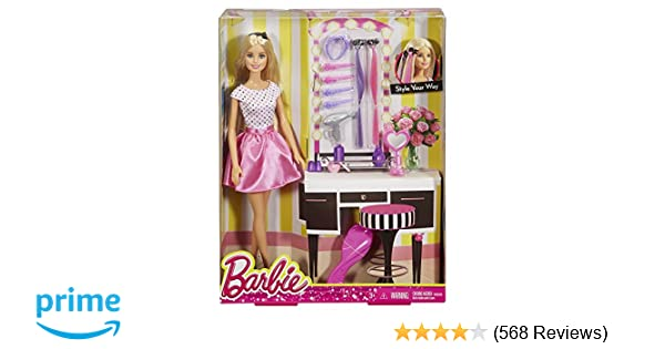 Buy Barbie Doll And Playset Multi Color Online At Low Prices In