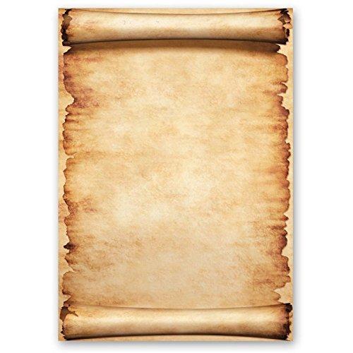 Carta da lettera decorati pergamena 250 fogli formato din a5