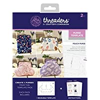 Threaders Pouch Purse Template, 19 x 24 x 0.3 cm