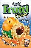 Frutti Instant Getränkepulver ohne Zucker - Geschmackrichtung: Apricot Aprikose 12er Packung