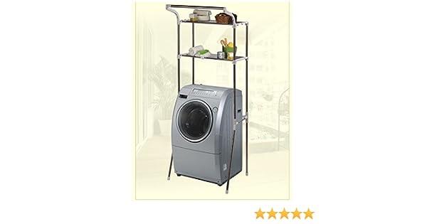 Unbekannt bad eckregal waschmaschinenregal waschmaschinenschrank