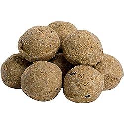 Bolas de grasa sin red–Alimento para pájaros–10, 20o 30unidades
