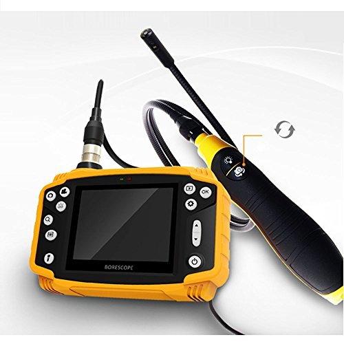 Smartfly hb90d 9mm 1Meter 8,9cm LCD Dual Objektiv Endoskop Endoskop Schlange Inspektion Tube Kamera DVR Fahrzeug Inspektion Pipeline Handheld Lcd-dvr