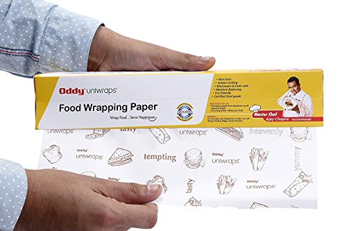 Oddy Uniwraps Food Wrapping Paper, White