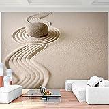 Fototapete Sand Garten 396 x 280 cm Vlies Wand Tapete...