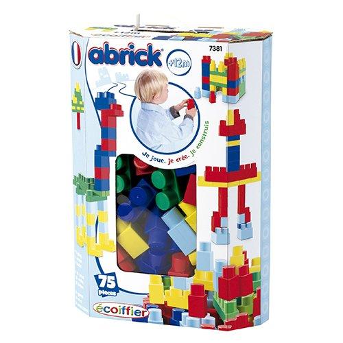 Smoby - Caja 75 piezas maxi abrick, color azul (7381)