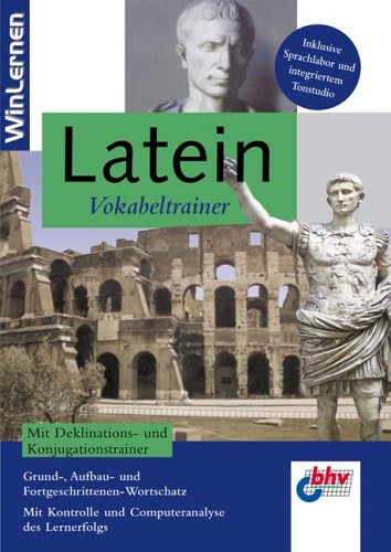 Latein Vokabeltrainer 2.0, 1 CD-ROM Grund-, Aufbau- und Fortgeschrittenen-Wortschatz. Individuell erweiterbar um bis zu 60 Lektionen. Kontrolle des Lernerfolgs. ... Sprachlabor und integriertem Tonsstudio