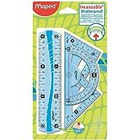 Mapped 244069 Mini kit righe, squadre e goniometro