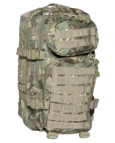 44d9be6ecc52 Army Tactical Assault Pack Military Rucksack Hiking MOLLE 20L Arid Woodland  Camo, S