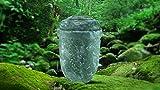 """Biologisch abbaubar Verbrennung Asche Urne–Erwachsene Größe–Slate Design–""""Fern Green"""""""