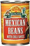 Cantiña Mexicana Frijoles Mexicanos con Salsa de Chile - 400 ml