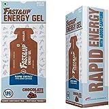 [Sponsored]Fast&Up Vegan Sports Energy Gel - 30 G (Chocolate, Pack Of 5)