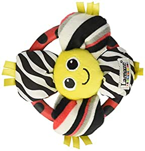 Lamaze High Contrast Grip And Grab Flower Baby Toy