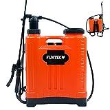 FUXTEC Drucksprüher FX-DS20L, zur Anwendung aller Sprüharbeiten im Garten, Düngung und Unkraut - & Schädlingsbekämpfung, 5 Liter Tank inkl Tragegurt, geringes Gewicht von 3 kg, Betriebsdruck 10 bar