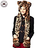#8: Zacharias Animal Plush Cap Exclusively with HAND GLOVES for all GIRLS/KIDS
