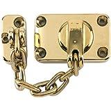 Yale Locks WS16 - Juego de cerrojo y cadena para puerta, color latón pulido [Importado de Reino Unido]