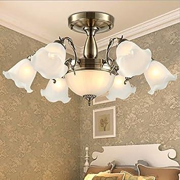 Messing Antik Deckenleuchte Lampe Wohnzimmer Lampen Im Europischen Stil Minimalistische Restaurant Warm Schlafzimmer Leuchte Deckenlampe