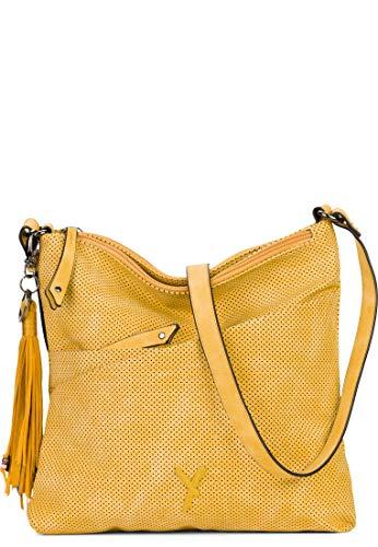 SURI FREY Umhängetasche No.3 Romy Damen Handtaschen Uni yellow 460 One Size