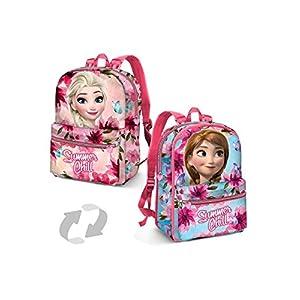 Karactermania Frozen Summer Chill Mochila Infantil, 31 cm, Rosa