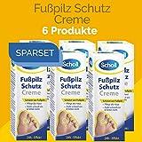 Scholl Fusspilz Schutz Creme 180ml (6 x 30ml)