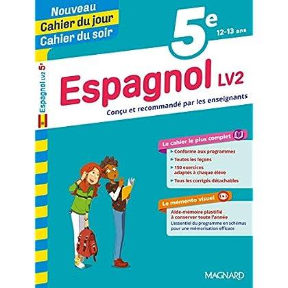 Cahier du jour/Cahier du soir Espagnol 5e
