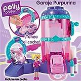 Mattel L9877-0 - Polly Brillos de bolsillo y Flitz Garage Playset