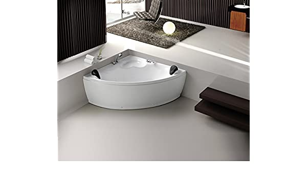 Prezzo Vasca Da Bagno Vogue : Angolare per vasca da bagno in acrilico vasca d 3131 bianco: amazon