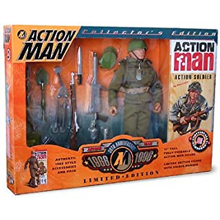 ACTION MAN COLLECTORS LIMITED EDITION LIMITED 30TH ANNIVERSARY FIGURE UNIQUE NUMBER