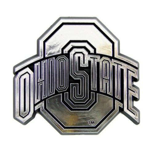 NCAA Chrome Automarke Emblem, CHU049, Ohio State Buckeyes, 4