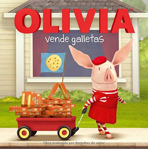 Olivia Vende Galletas (Olivia Sells Cookies) (Olivia TV Tie-in)