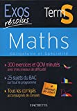 Maths Tle S Obligatoire et spécialité