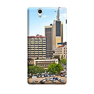 iCover Premium Printed Mobile Back Case Cover With Full protection For Sony Xperia C4 (Designer Case)