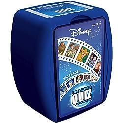 Winning Moves Quiz Disney Classics-Le Jeu Teste Ton Savons avec 500Questions Autour Les Plus Beaux Disney Films | Savons Jeu-Jeu de Société-Jeu de Cartes-Jeu de Famille