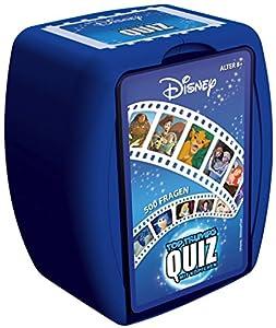 Winning Moves Quiz Disney Classics-El Juego con tu Saber sincronizadas 500Pregunta Alrededor los Mejores Disney películas | Saber Parte | Sociedad Parte | Tarjeta Parte | Familia Parte