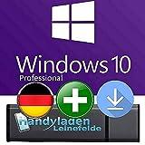 Microsoft Windows 10 Pro ISO USB. 32 bit & 64 bit - Original Lizenzschlüssel mit bootfähigen USB Stick von - HANDYLADEN-LEINEFELDE